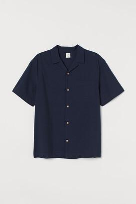 H&M Cotton resort shirt