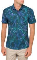 HUGO BOSS Square Floral Print Shirt