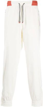Brunello Cucinelli Stripe Detail Drawstring Track Pants