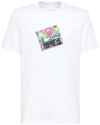 Nike Nsw Music Cd Print Cotton T-Shirt
