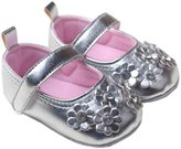 Aivtalk Baby Girl Soft Sole Prewalker Walking Flat Shoes Sweet Floral Printed Mary Jane Size 14