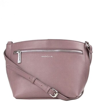 Mocha Jamie Crossbody Bag - Mauve