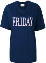 Alberta Ferretti Friday embroidered T-shirt