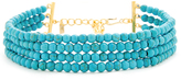 Kenneth Jay Lane Bead Dog Collar Necklace