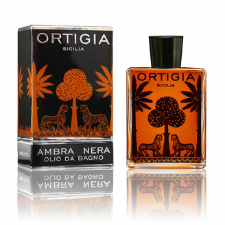 Ortigia Bath Oil - 200ml - Ambra Nera