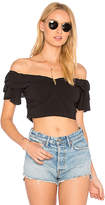 Majorelle x REVOLVE Conjure Top in Black. - size L (also in M,S,XL,XS)
