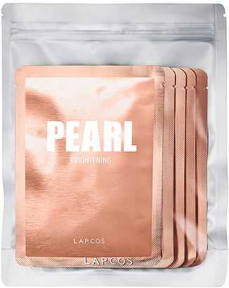 LAPCOS Pearl Daily Skin Mask 5 Pack