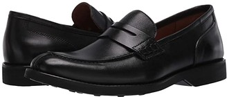 Massimo Matteo Bona Fide Penny Loafer (Black) Men's Shoes