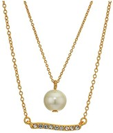 J.Crew Perla Charm Necklace Set (Pearl) Jewelry Sets