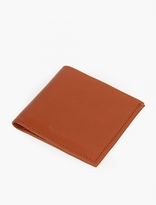 Shinola Bourbon Square Leather Bi-Fold Wallet