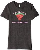 Womens I CARRIED A WATERMELON Shirt | Cute Pink Maternity Pregnancy