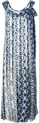 Oscar de la Renta Woodblock dress
