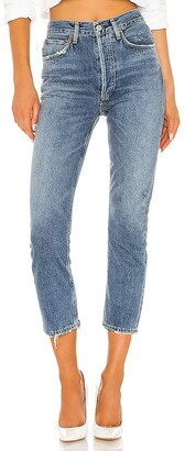 AGOLDE Riley High Rise Straight Crop. - size 24 (also