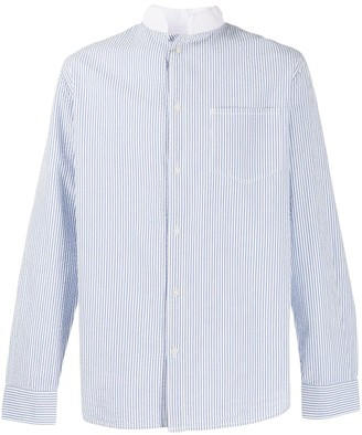 Barbour Striped Seersucker Shirt