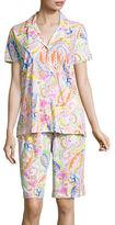 Lauren Ralph Lauren Cotton Jersey Bermuda Pyjama Set