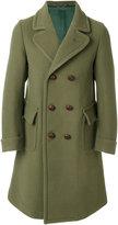Doppiaa - double breasted coat - men - Viscose/Virgin Wool - 48