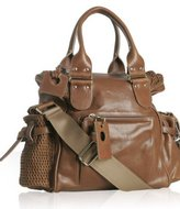 Chloe brown leather 'Ada' shopping bag
