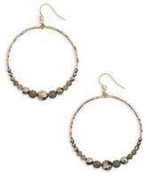 Chan Luu Women's Labradorite Mix Hoop Earrings