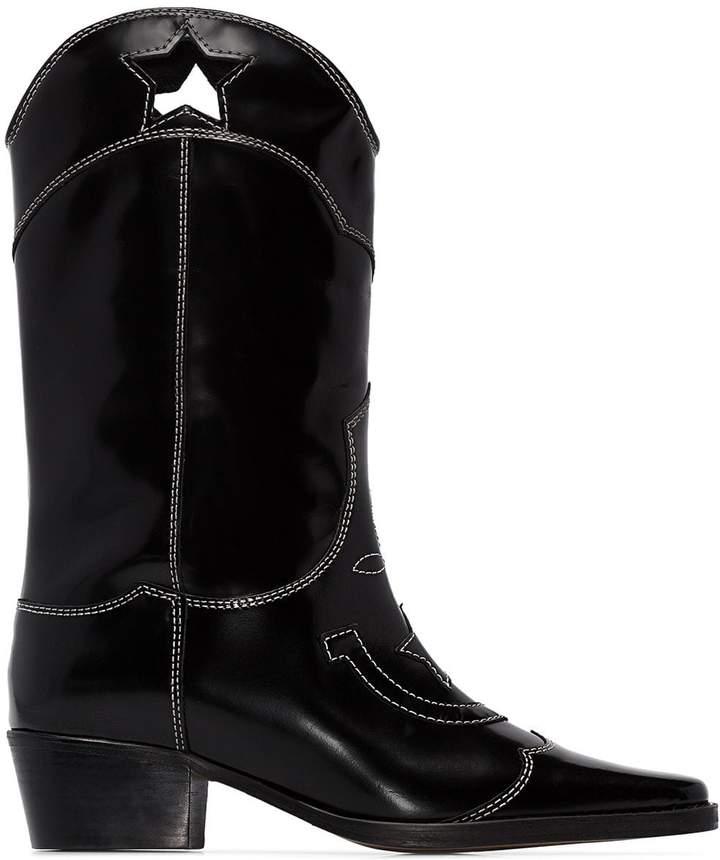 3413c5a16b1 Marlyn 50mm cutout star cowboy boots
