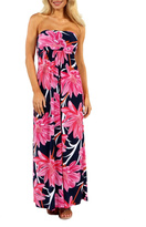 24/7 Comfort Apparel Maui Dreams Dress