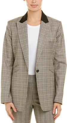 Rag & Bone Ridley Wool-Blend Blazer