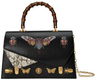 Gucci Ottilia leather top handle bag