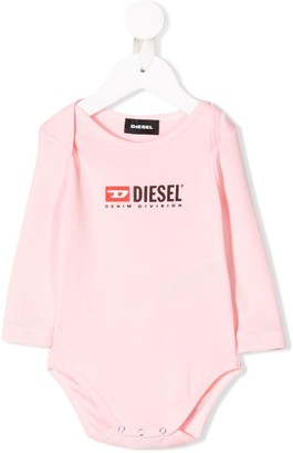 Diesel Logo Long-Sleeved Body
