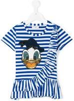 MonnaLisa striped Donald T-shirt