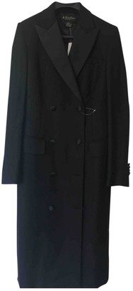 Brooks Brothers Black Wool Coat for Women