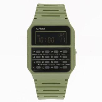 Casio Unisex Digital Calculator Watch in Green - CA53WF-3BOS