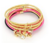 Juicy Couture Set Of 10 Charmy Elastics