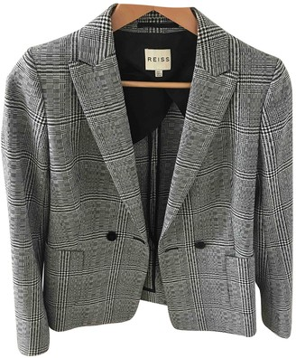 Reiss Grey Wool Jacket for Women
