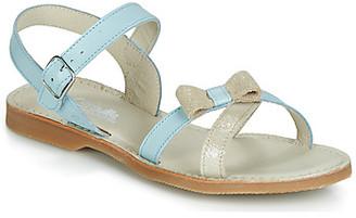 Citrouille et Compagnie JISCOTTE girls's Sandals in Blue