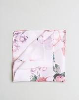 Asos Pocket Square With Rose Print