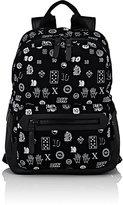 Lanvin Men's Zip-Front Backpack-BLACK