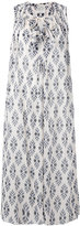 Forte Forte diamante print dress - women - Silk/Cotton - 0