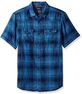 Buffalo David Bitton Men's Simpaqos Short Sleeve Plaid Button Down Shirt