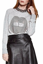 Lauren Moshi Grey Pull-Over Top