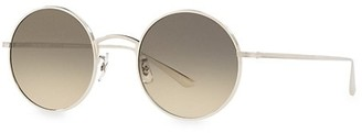 Oliver Peoples The Row After Midnight 49MM Round Sunglasses