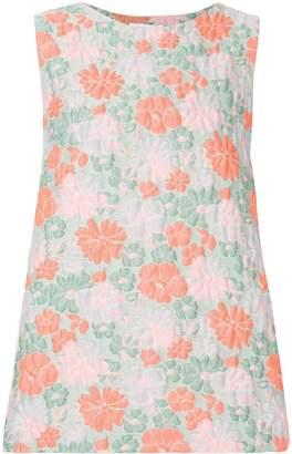 Jil Sander sleeveless floral print top