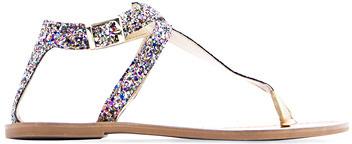 MANGO Shiny strap sandals