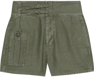 Frame Utility Service Cotton-canvas Shorts