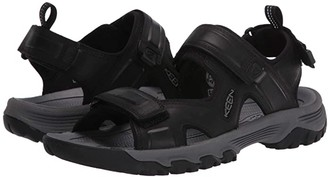 Keen Targhee III Open Toe Sandal (Black/Grey) Men's Shoes