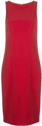 Carolina Herrera Sleeveless Midi Dress