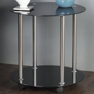 AVF Wheeled End Table AVF