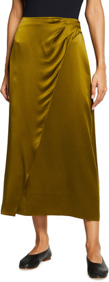 Vince Cozy Asymmetric Seam Skirt