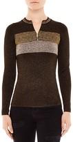 Sandro Dora Shimmer Knit Sweater