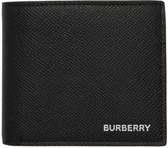 Burberry Black International Coin Bifold Wallet