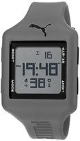 Puma Unisex PU910791016 Slide Digital Display Quartz Grey Watch