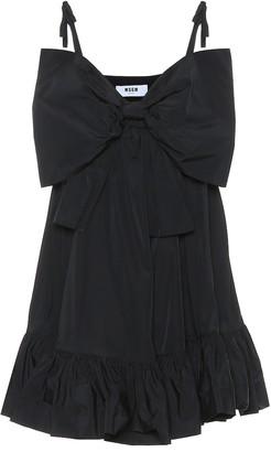 MSGM Cotton-blend minidress